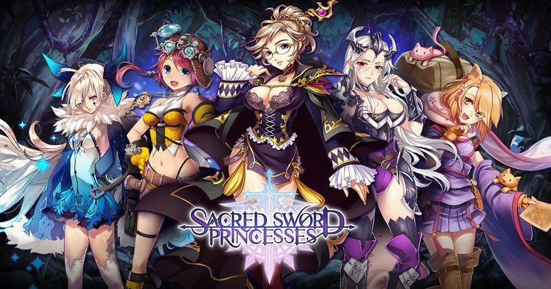 Hentai game - Sacred sword princesses